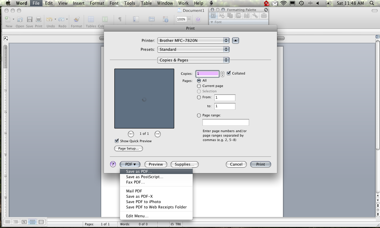 bHow to Convert a Word Document to TIFF, PDF or JPEG