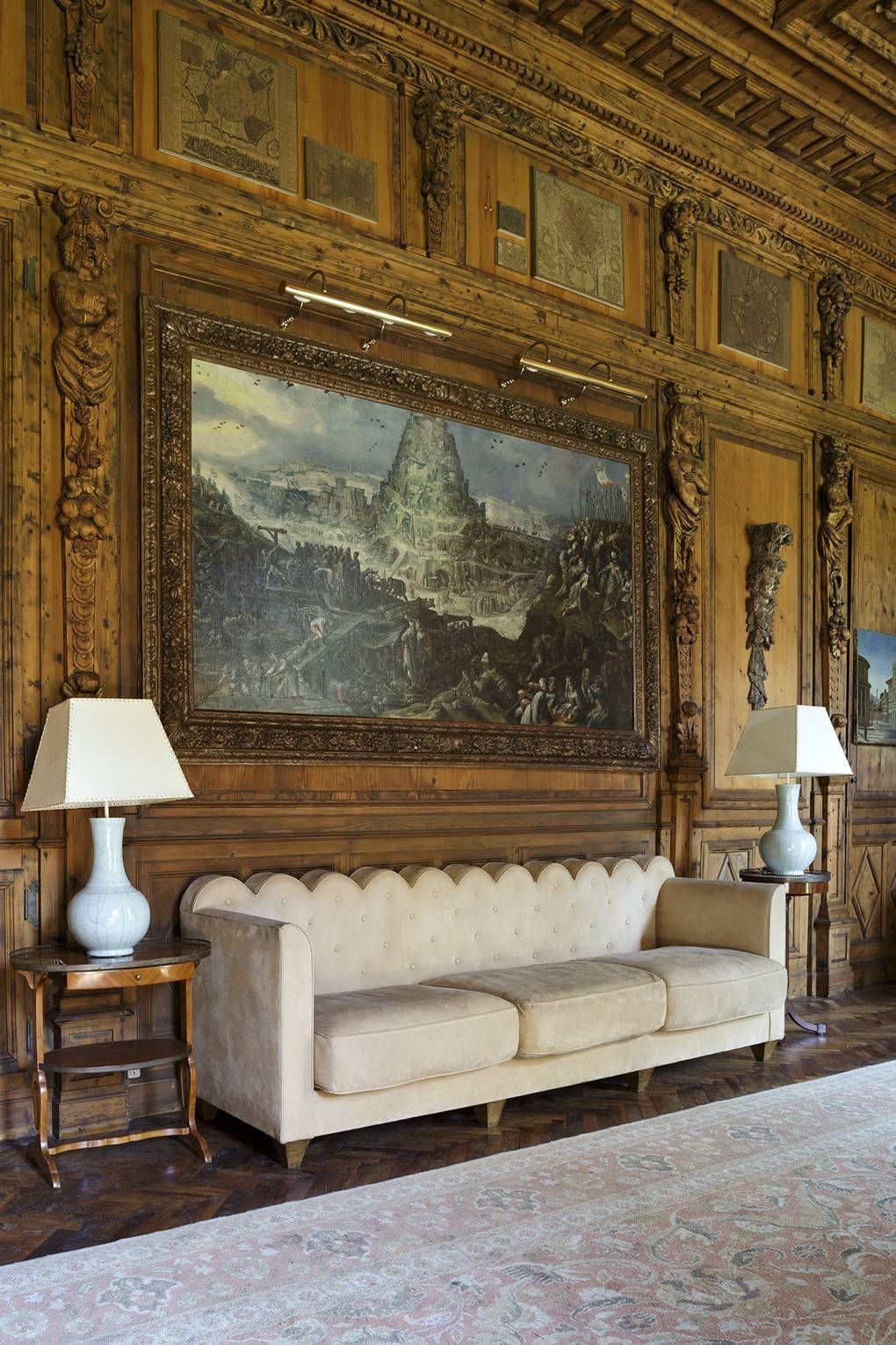 The Milan Palazzo Of The Famed Italian Architect Piero Portaluppi Villa Necchi Elegant Interior Design Architect