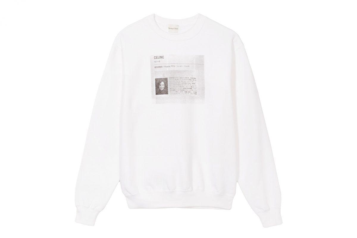 Celine Designer Phoebe Philo Sweatshirt Sweatshirts Phoebe Philo Philo [ 800 x 1200 Pixel ]