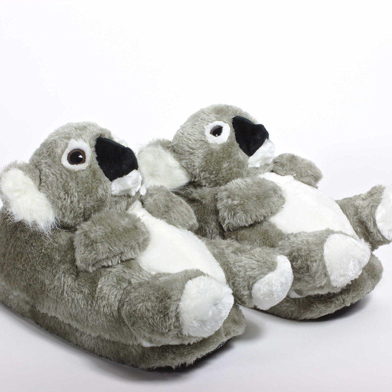 364d603935e1e Sleeper'z - Koala - Chaussons animaux peluche - Adulte et enfant - Homme et  Femme - L: Amazon.fr: Chaussures et Sacs