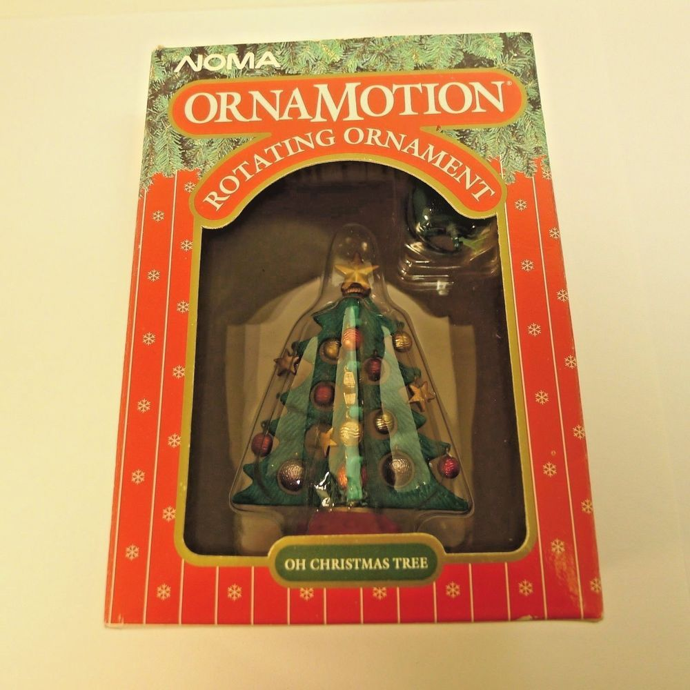 Noma Christmas Decorations: Noma Ornamotion Rotating Christmas Ornament 88144 Oh