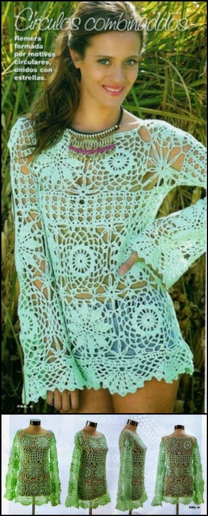 50+ Quick & Easy Crochet Summer Tops - Free Patterns | Häkeln ...