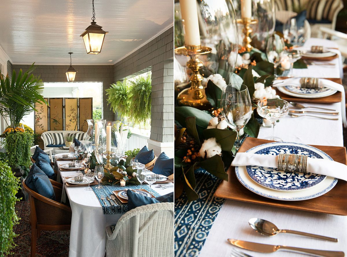 15 Outdoor Thanksgiving Table Settings for Dining Alfresco & 15 Outdoor Thanksgiving Table Settings for Dining Alfresco | Porch ...
