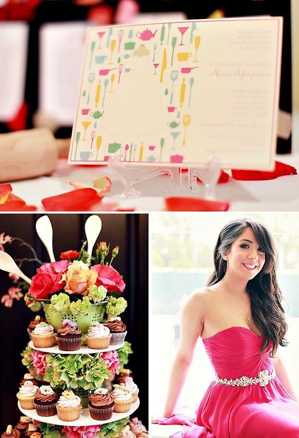 Creative Kitchen Themed Bridal Shower