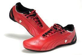 Puma ferrari red shoes   Racing shoes