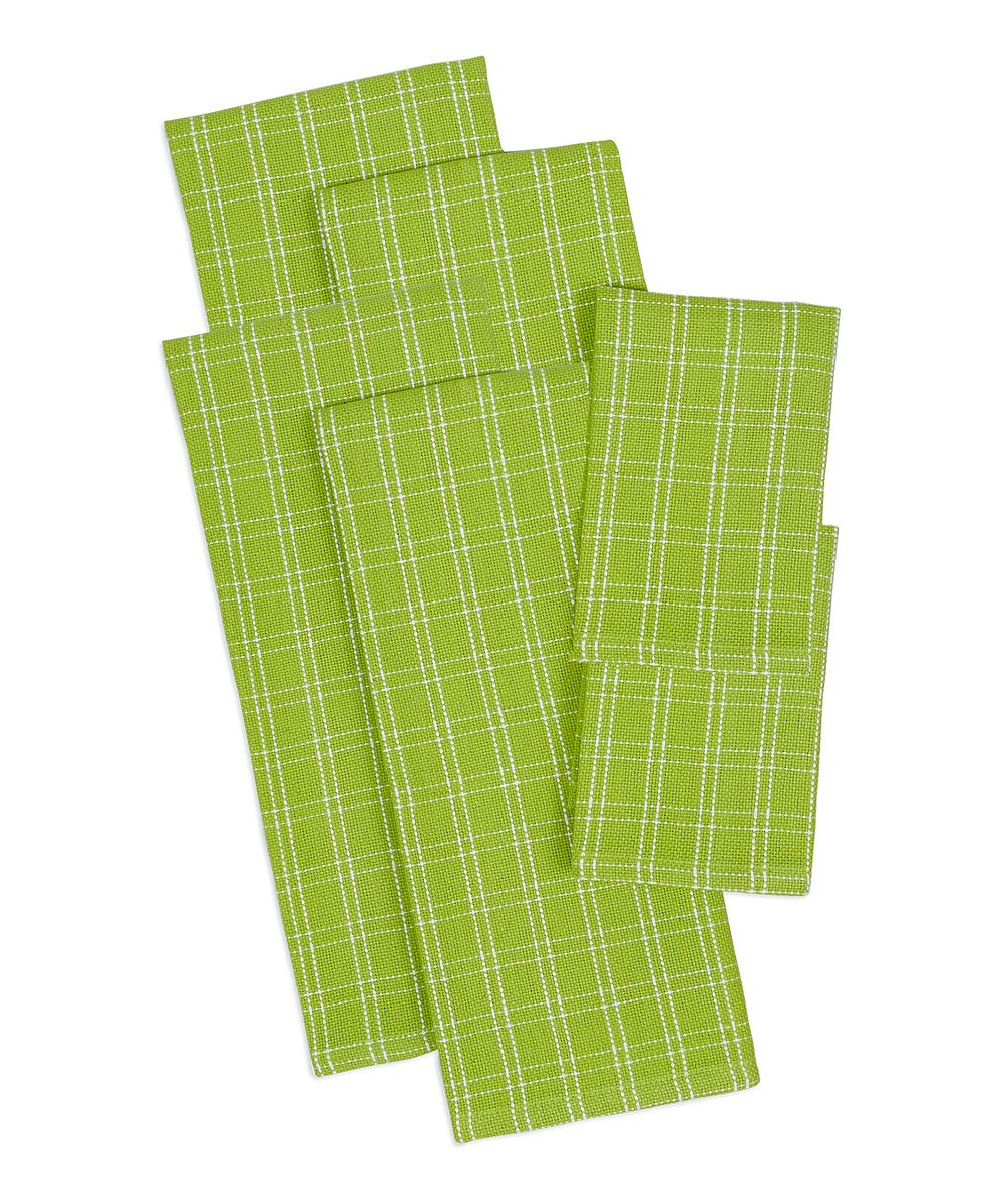 Lime Heavyweight Dishtowel Set
