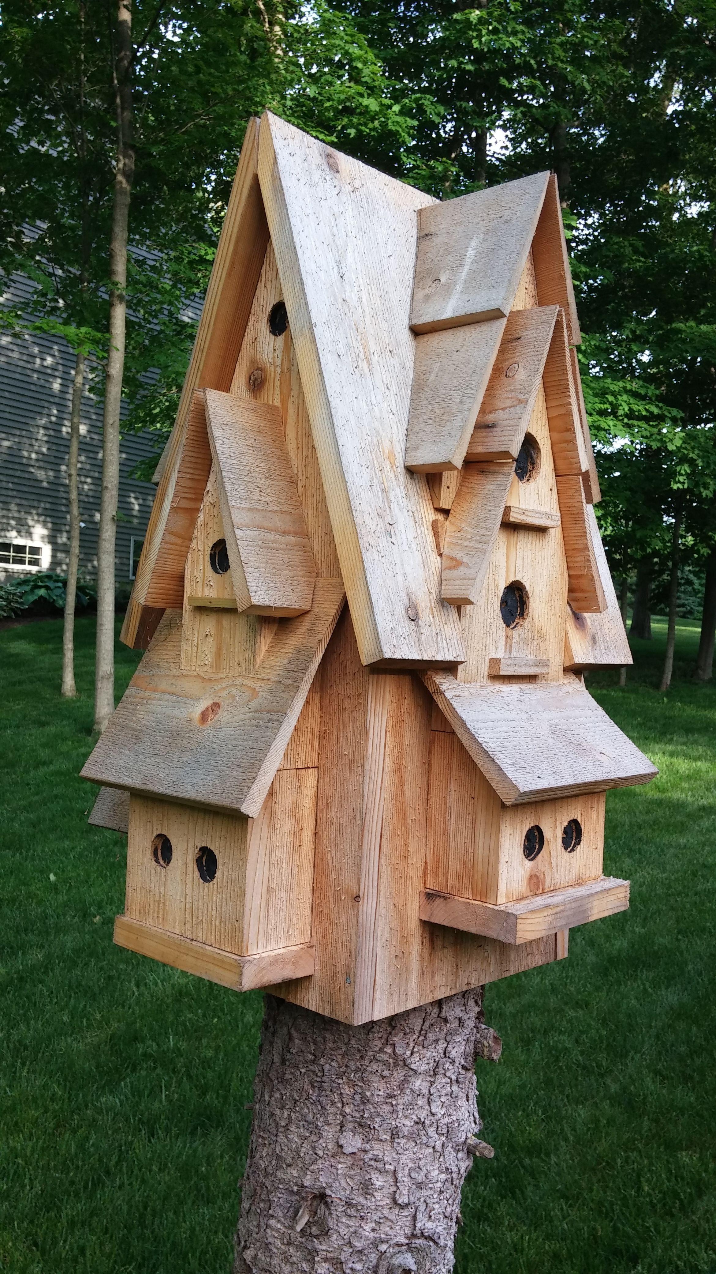 Bird Condo Decorative Bird Houses Unique Bird Houses Large Bird Houses