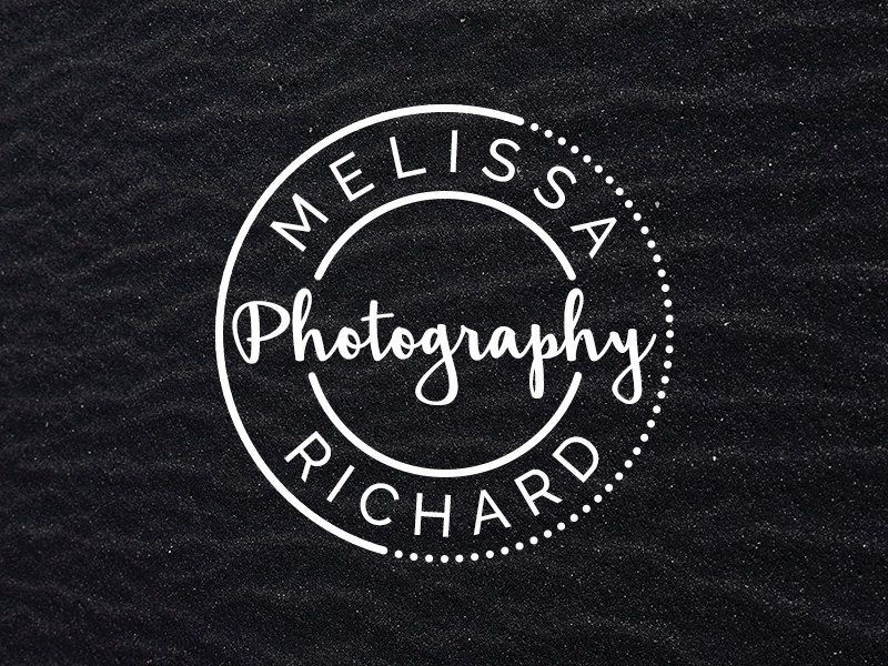 Logo / watermark template for a photographer duo or a