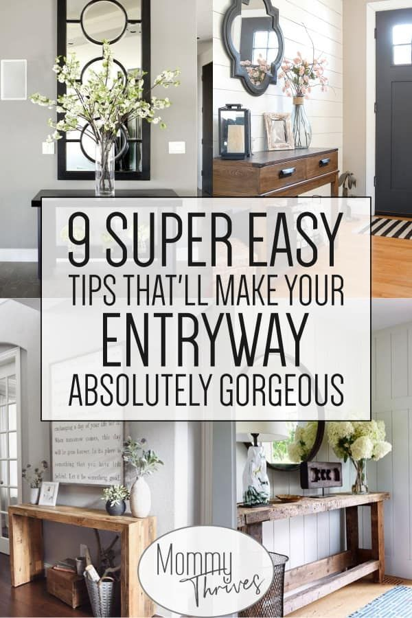 9 Entryway Table Ideas That Are Gorgeous – Mommy Thrives