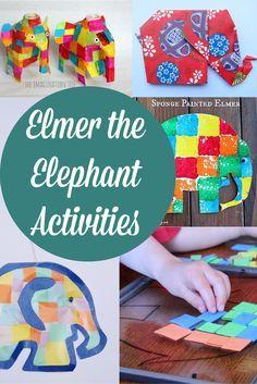 Elmer The Elephant Activities - Crafts on Sea