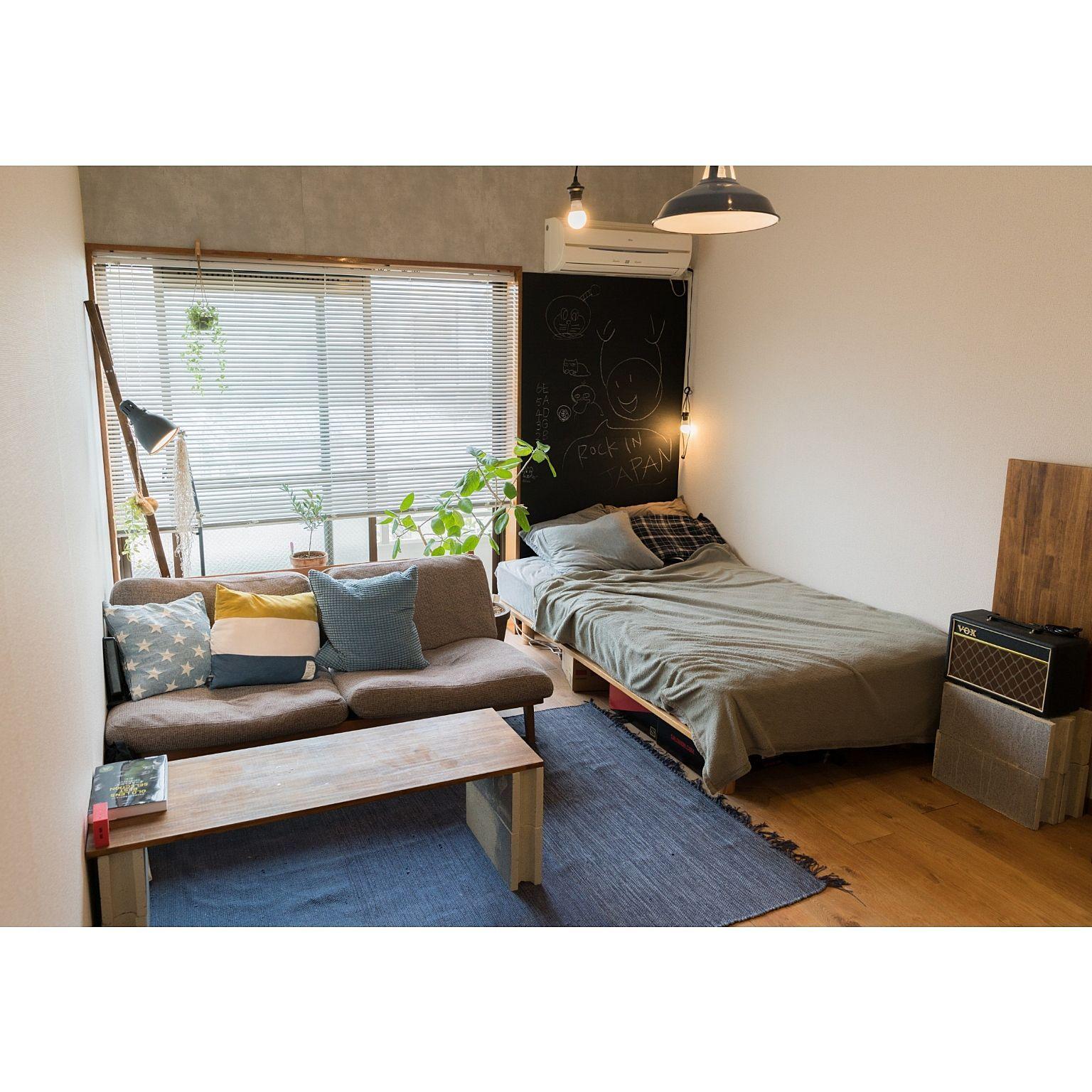 1kのお部屋どうしてる 6 8畳のお役立ちレイアウト実例 2020 一人暮らし部屋レイアウト 狭い部屋 インテリア 部屋 レイアウト