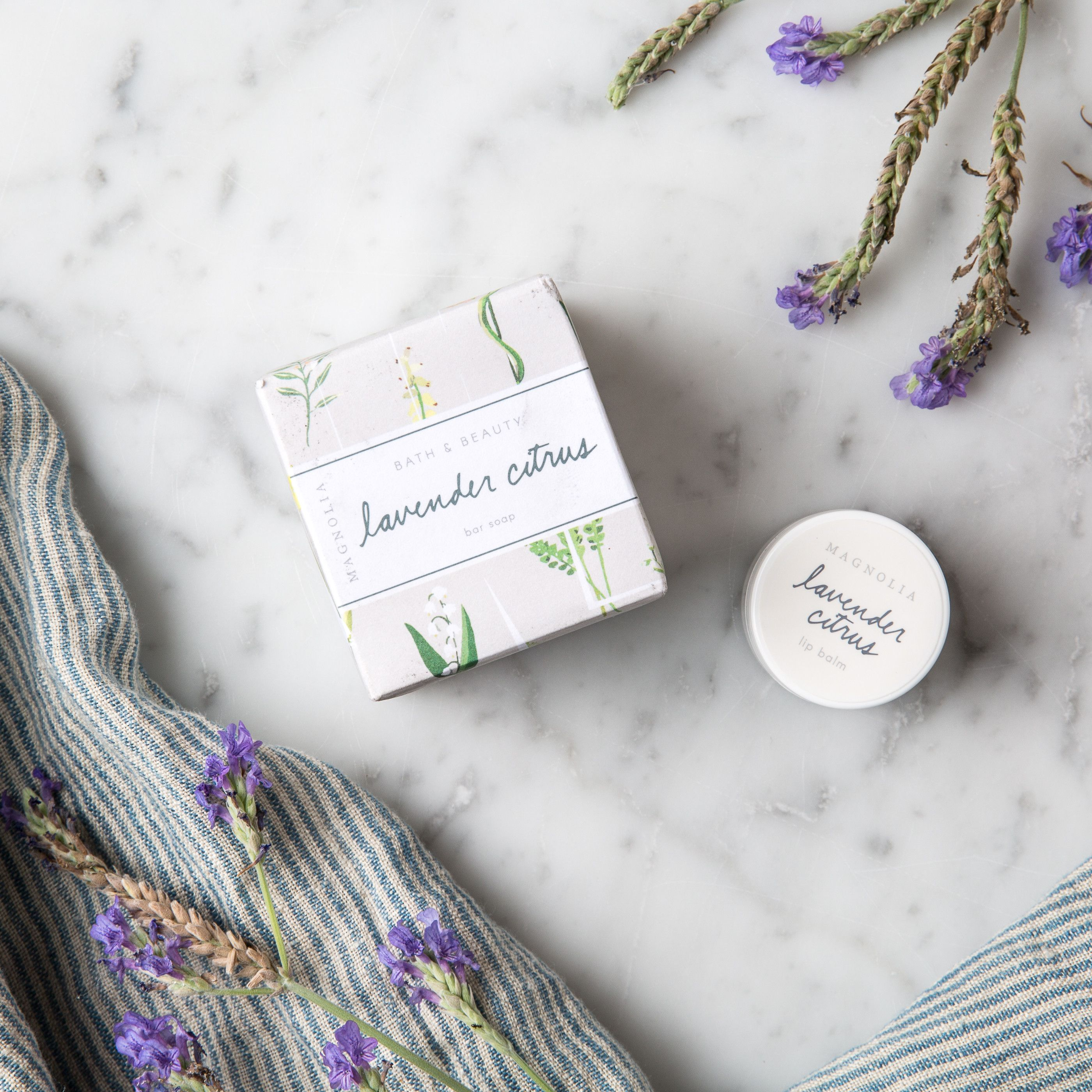 Magnolia bath and beauty collection bar soap