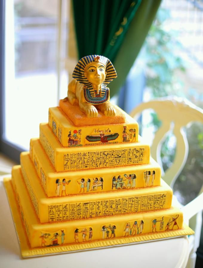 Tremendous Ancient Egypt Cake By Irina Adriana Egyptian Party Art Party Funny Birthday Cards Online Necthendildamsfinfo