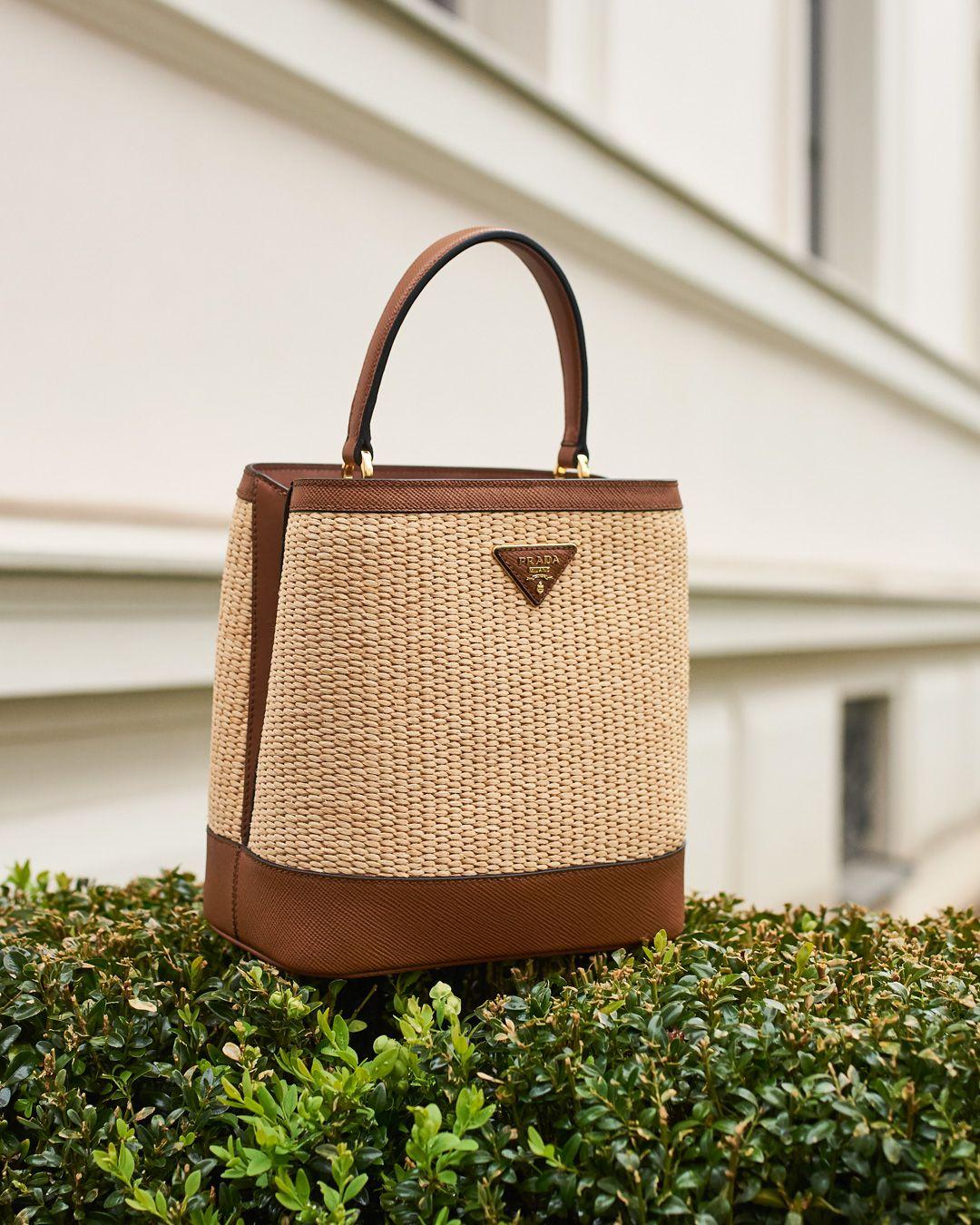 738c58deaec4 Panier Medium straw shoulder bag in 2019 | Fashion