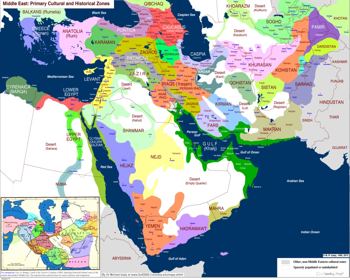 Islam Maps | Middle east map, Historical maps, Map