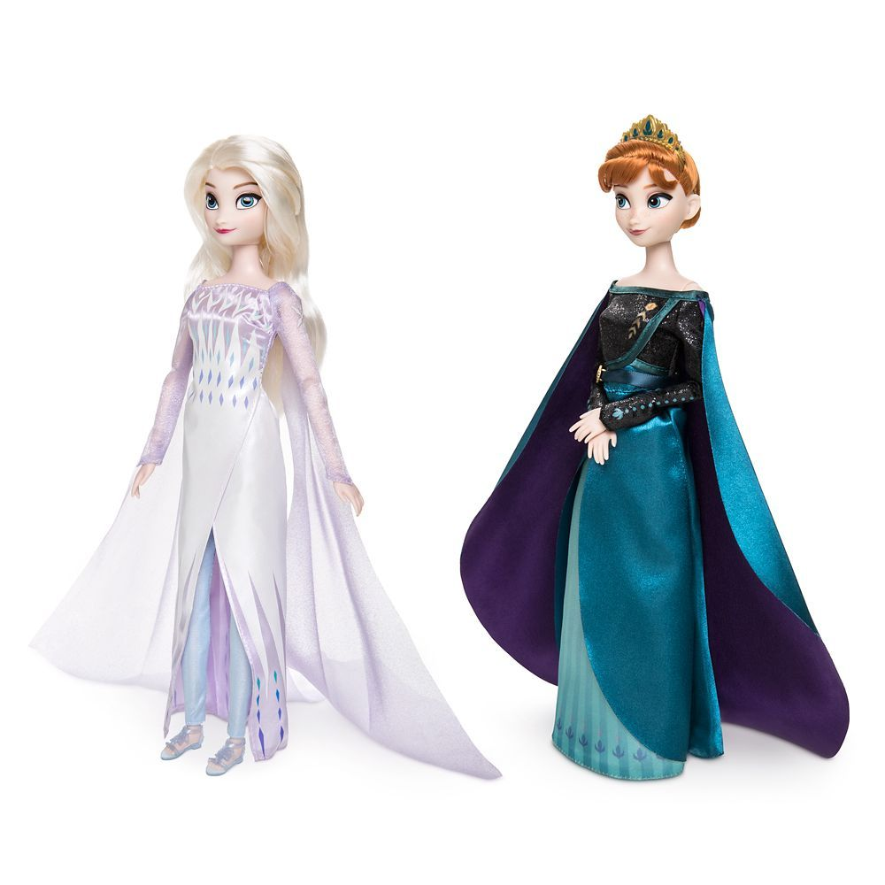 2 collectible figurines NEW! Disney Frozen Queen Elsa and Princess Anna