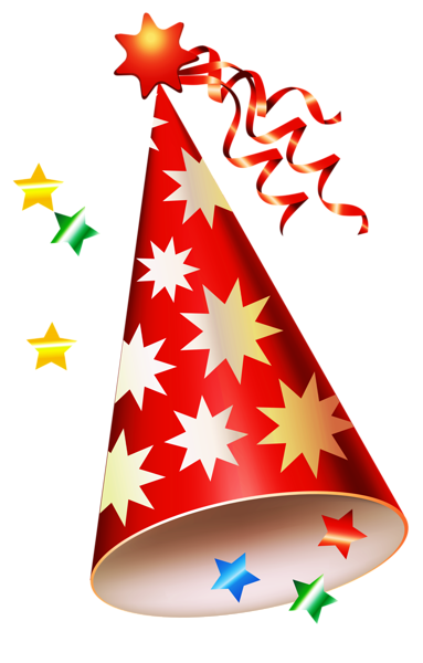 Red Party Hat Transparent Png Clipart Birthday Party Clipart Birthday Hat Png Birthday Clips