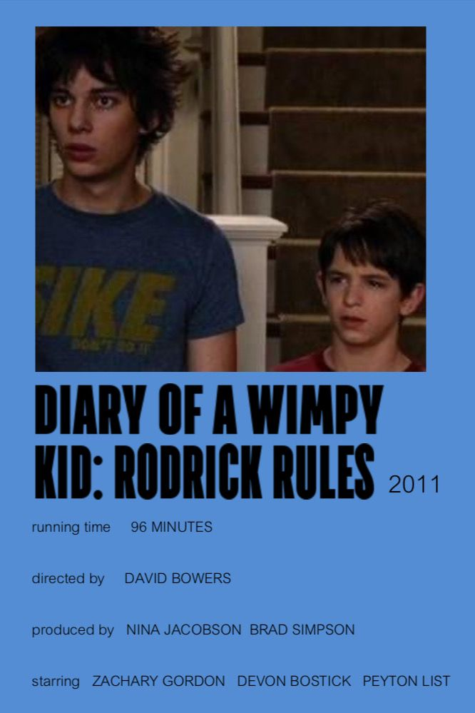 diary of a wimpy kid: rodrick rules - coloured movie ...