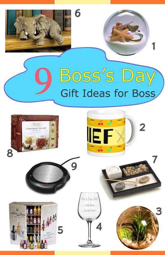 Boss Day 9 Gift Ideas For Your Boss Office Gifts