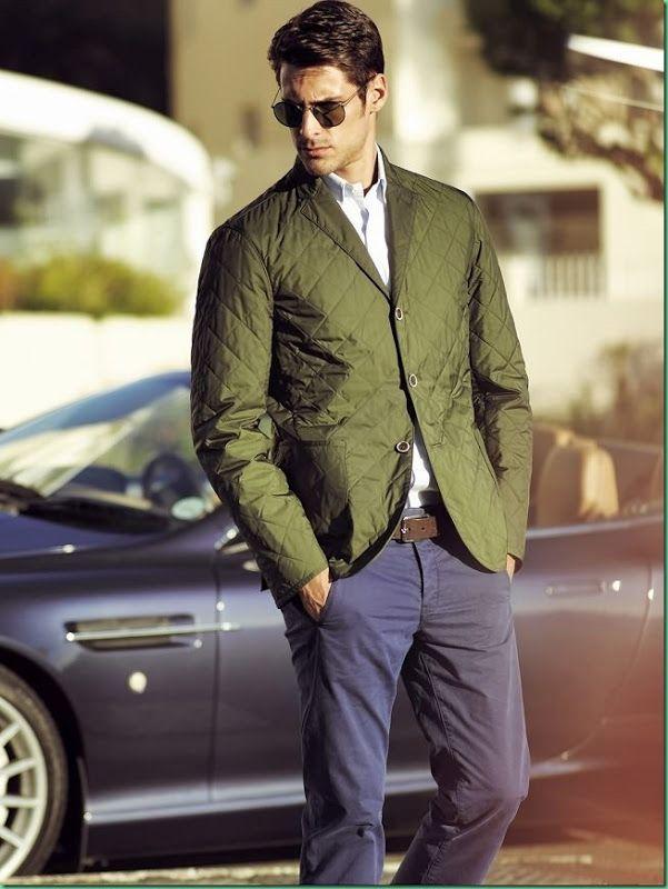 12a945395e Eric Belanger for Cacharel. Eric Belanger for Cacharel Mens Suit ...