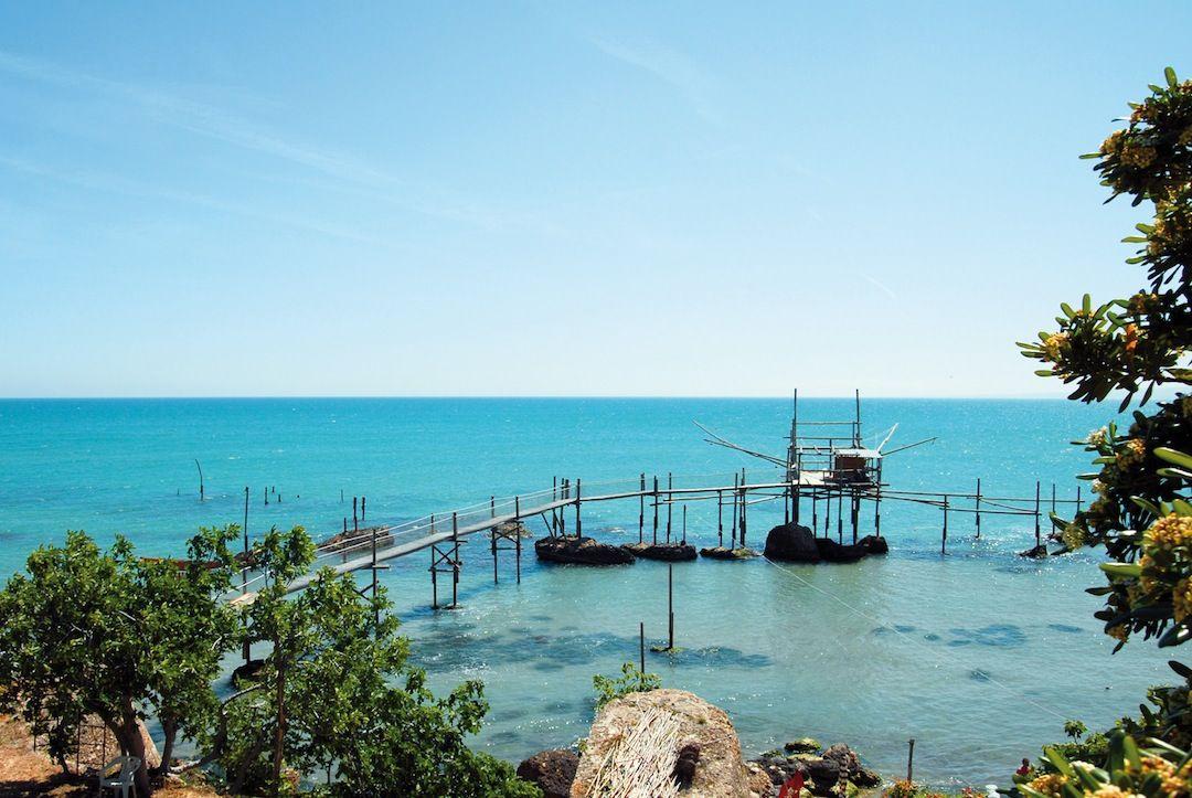Estate in Abruzzo, trabocchi