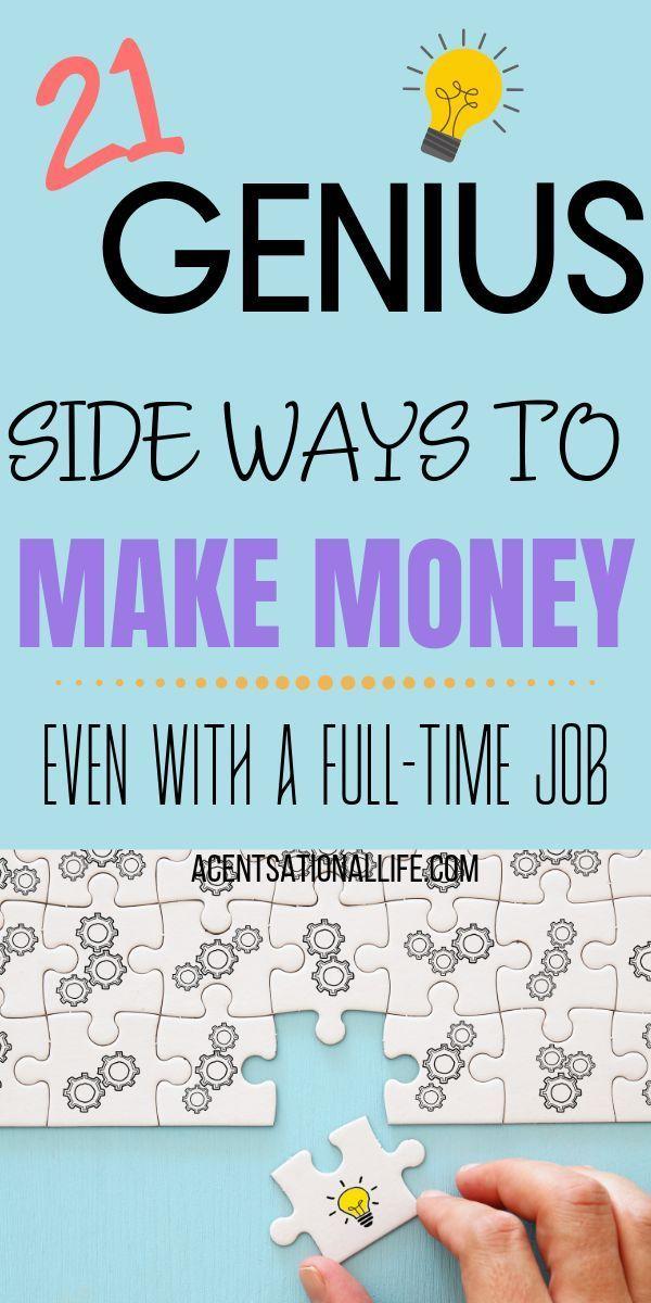 GENIUS Side Ways, um auch mit einem Vollzeitjob mehr Geld zu verdienen! #Geld verdienen   – Affiliate Marketing