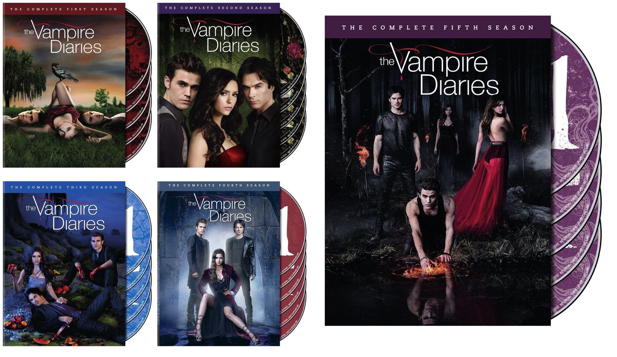Vampire Diaries Tv Series Complete Dvd Box Set Vampire Diaries Vampire Diaries Books Vampire Diaries Seasons