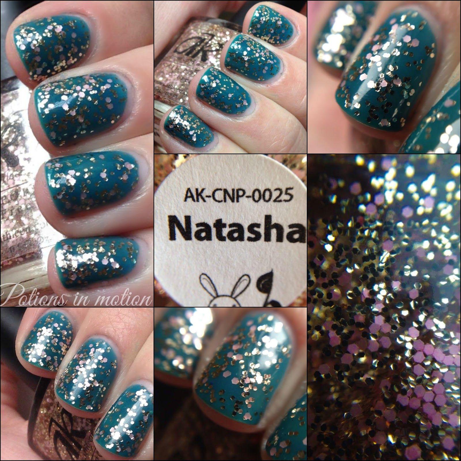 Anne Kathleen Nail Polish - Natasha | Nails | Pinterest | Swatch