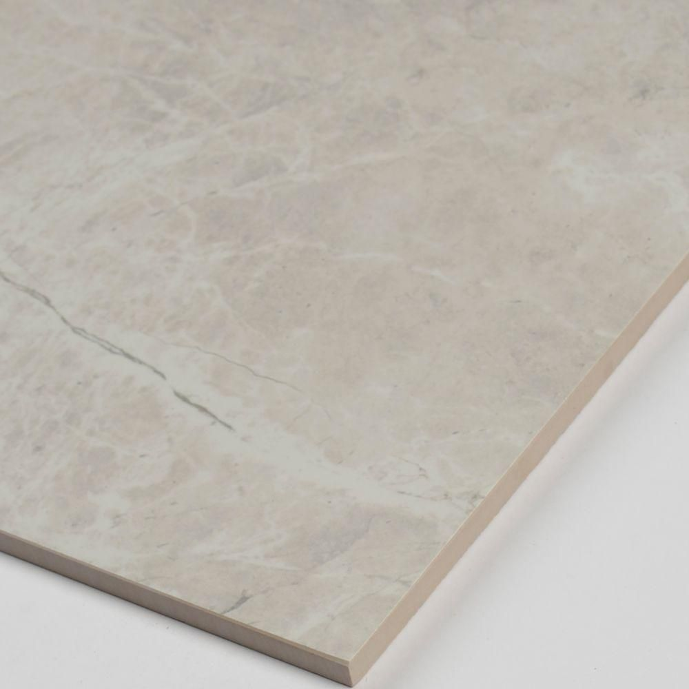 Ms International Cappuccino 12 In X 12 In Polished: MS International Marmol Gris 12 In. X 24 In. Polished