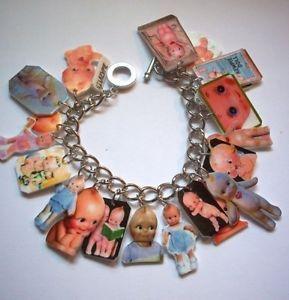 Kewpie Doll Bracelet Altered Art Jewelry OOAK Retro | eBay