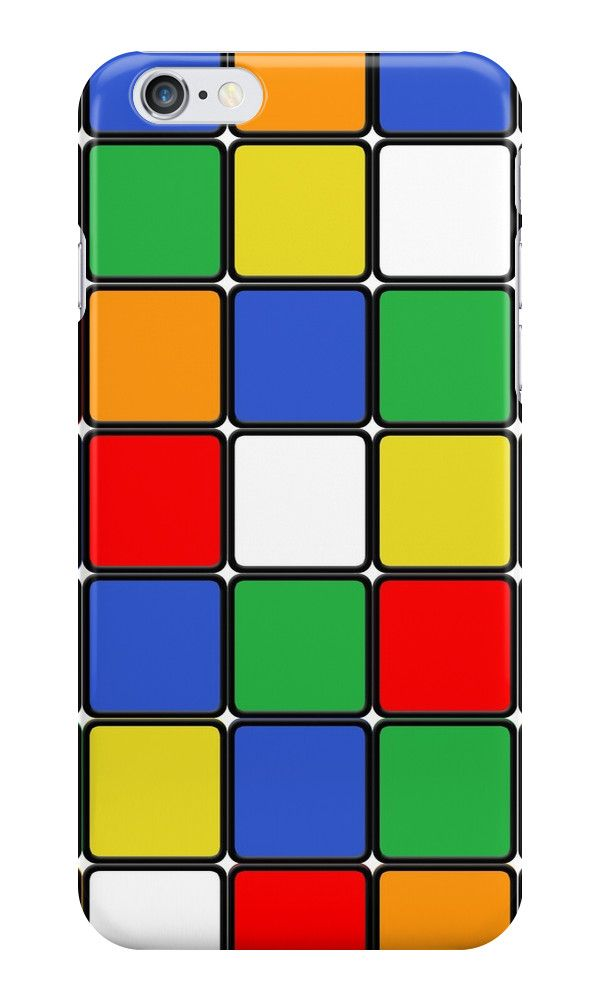 THE CUBE - Rubik Cube - Geometric - Phone Case - iPhone
