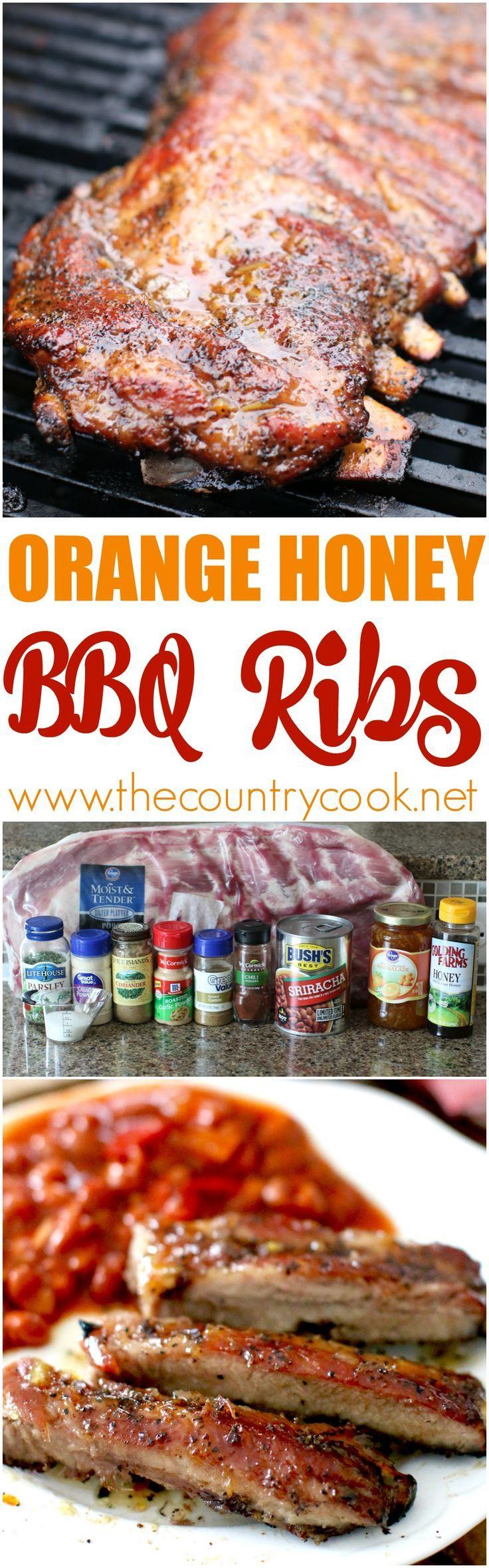 Bbq Bourbon Beef Ribs Tiny Kitchen Club Honey Recipes Beef Ribs Honey Bbq