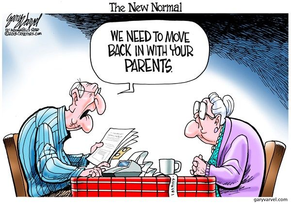 127603 600 The New Normal Cartoons Political Cartoons The New