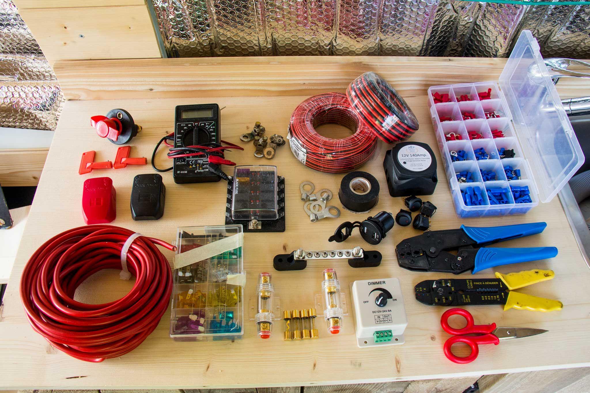 Schema Elettrico Camper : Kit parziale per l impianto elettrico del camper kill switch
