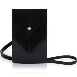 Photo of PhoneBag Fringes, in Black Any Di