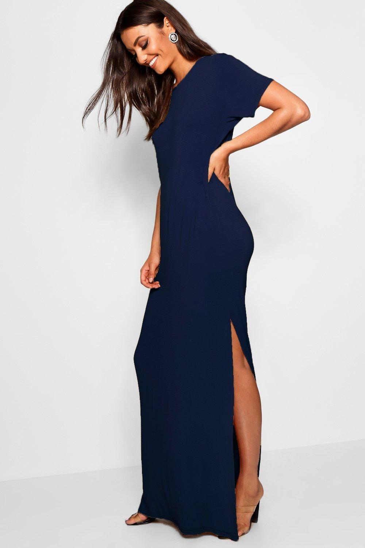Tall Split Side T Shirt Maxi Dress Boohoo Tall Maxi Dress Maxi Shirt Dress Dresses [ 1500 x 1000 Pixel ]