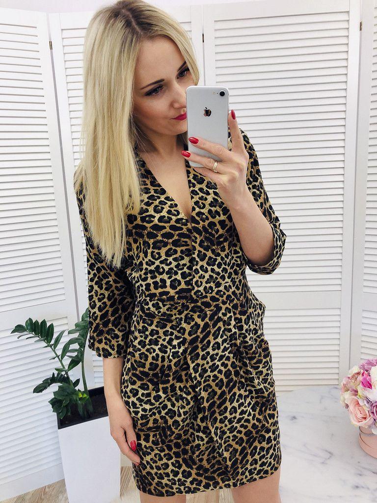 Sukienka Bombka Karin Panterka Dresses Fashion Wrap Dress