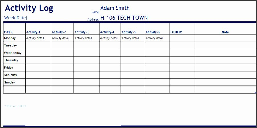 Free Printable Work Log Sheets Download And Modify For Your Own Project Needs Work Activities Daily Activities Timesheet Template