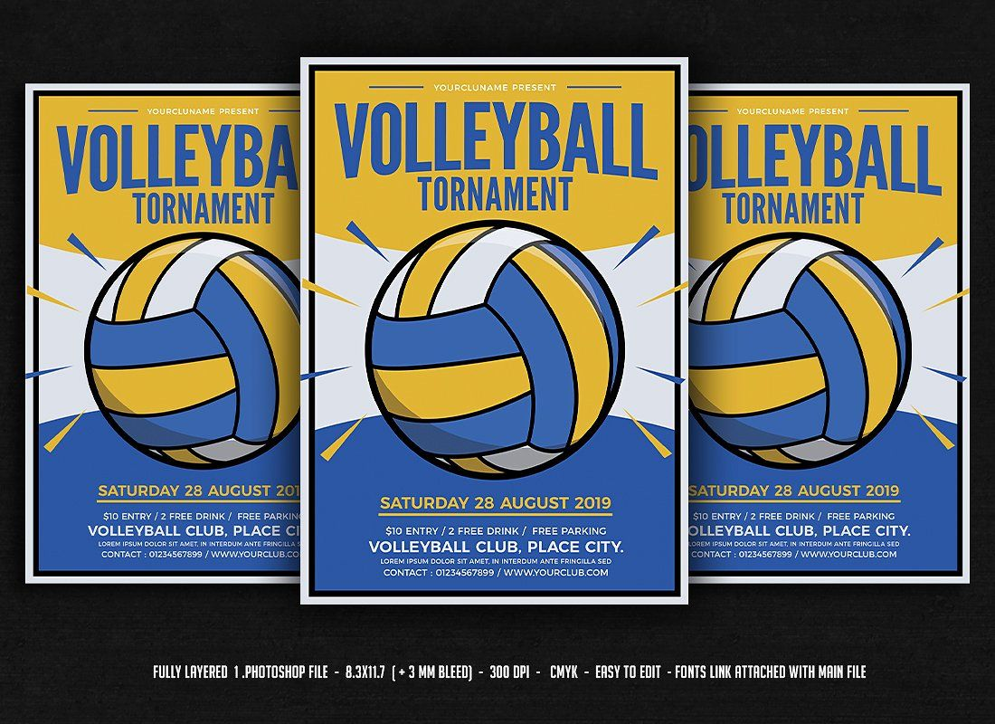 Volleyball Tournament Volleyball Tournaments Volleyball Posters Volleyball