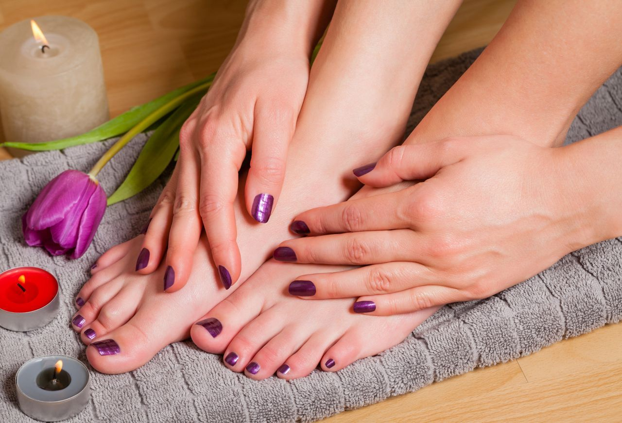 Beautiful Manicure And Pedicure Combinations To Try Perfect Nails Manicure And Pedicure French Nails