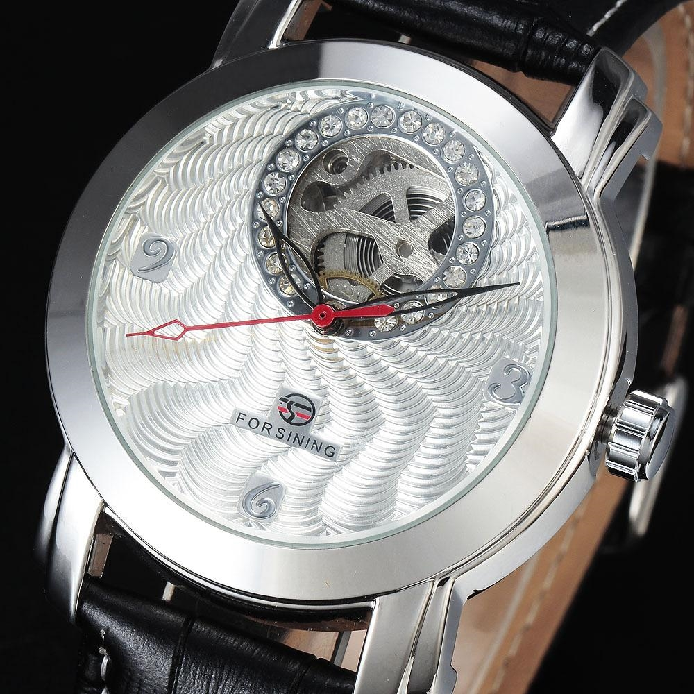 19.43$  Buy now - http://alie4e.shopchina.info/go.php?t=32445266205 - Forsining Shining Silver Golden Luxury Designer Mens Watches Top Brand Automatic Mechanical Wristwatch Skeleton Diamond Dial  #buyonlinewebsite
