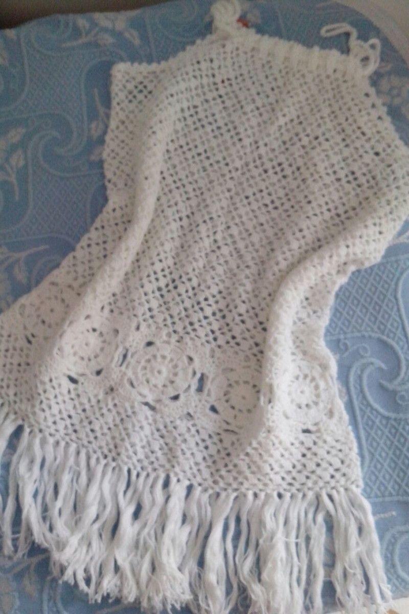 0fc14808d Saida de praia em crochê | Crochet | Saidas de praia, Saida de praia ...