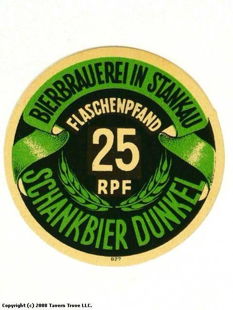 Bierbrauerei in Stankau Schankbier Dunkel