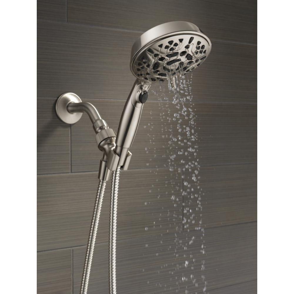 Delta Faucets 75716sn 7 Spray Head Shower Head Handheld H2okinetic