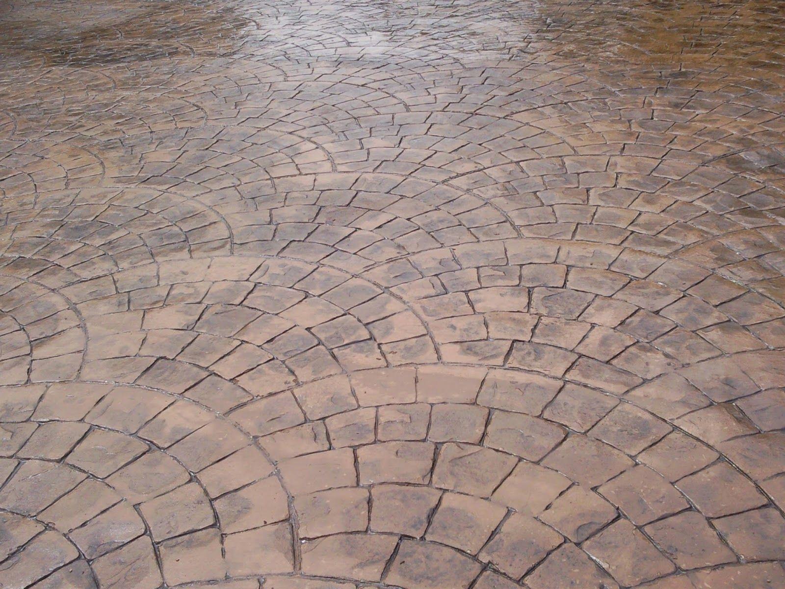 Hormig n impreso en granada concreto estampado tiles for Hormigon encerado sobre suelo de baldosas