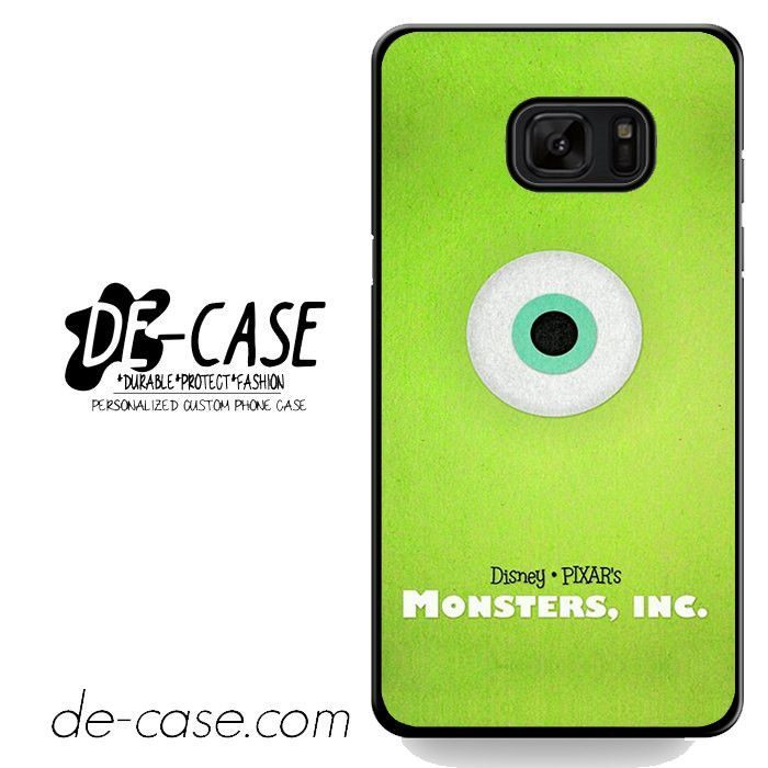 Movie Poster Monster Inc DEAL-7473 Samsung Phonecase Cover For Samsung Galaxy Note 7