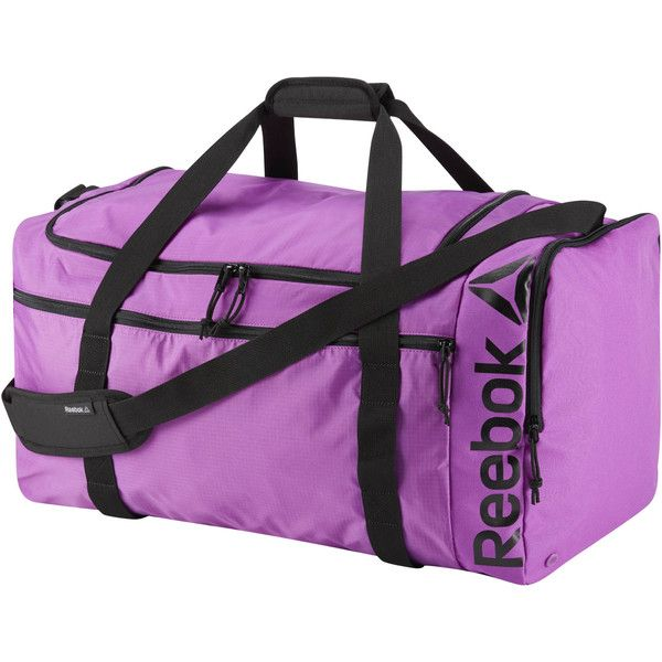 Reebok Workout Duffle Bag - 26in ( 55) ❤ liked on Polyvore featuring bags 7b4bc5c4c858a