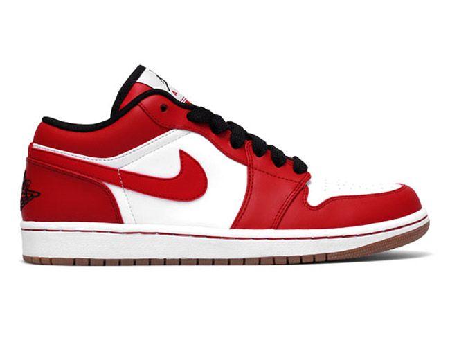 Air Jordan 1 Phat Low - White/Red/Black/Gum - EU Kicks: Sneaker Magazine