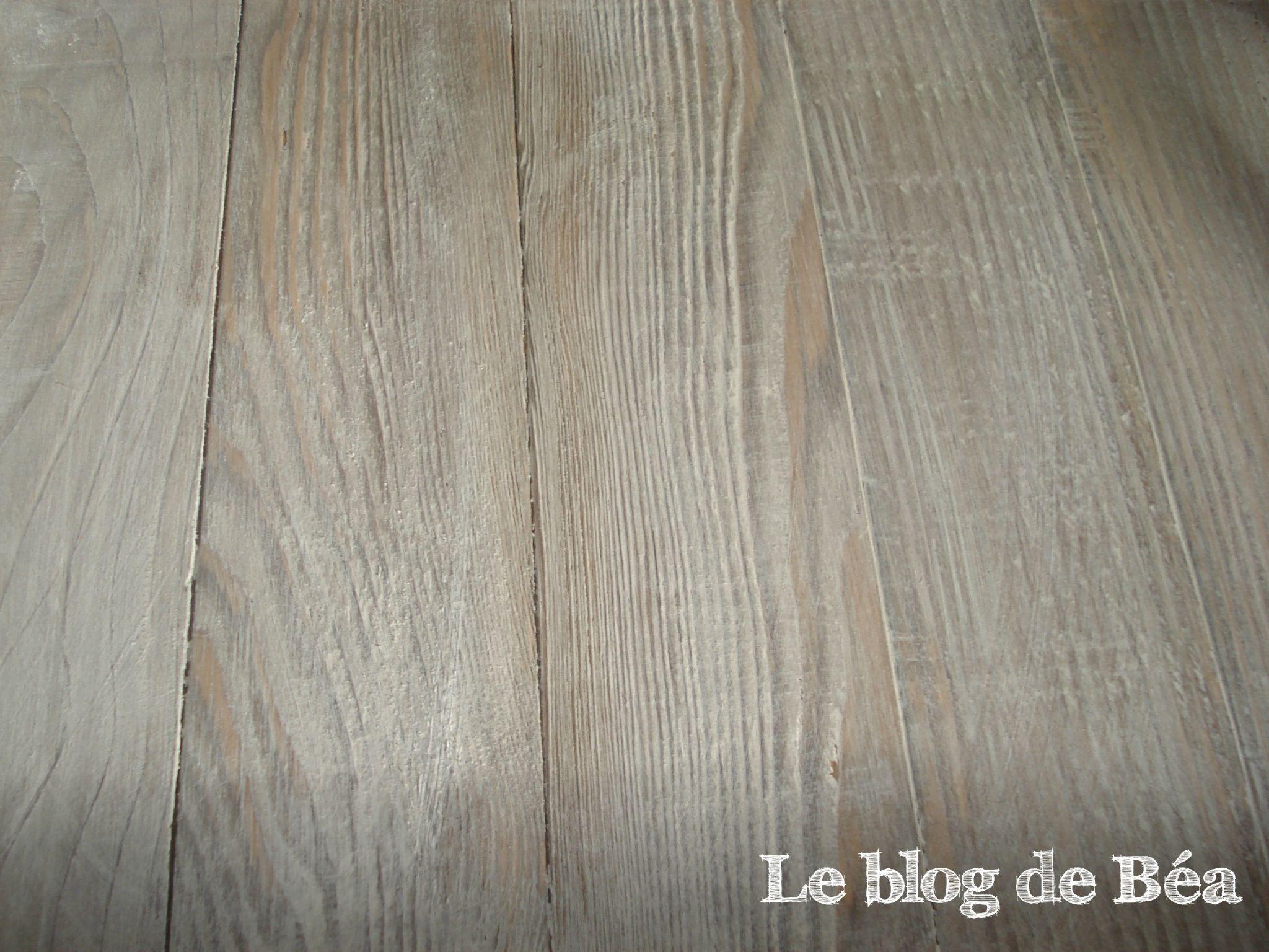 Vieillir du bois avec vinaigre blanc et marc de caf for Nettoyage carrelage vinaigre blanc
