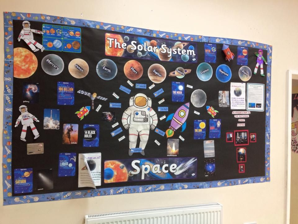 If you're looking for a solar system inspired classroom ...